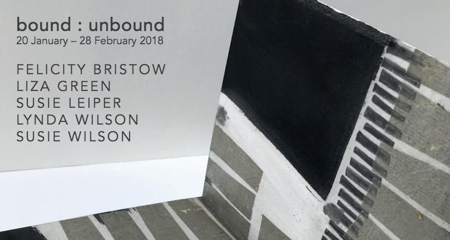 Artist Book Exhibition   bound : unbound   20 January – 28 February 2018
